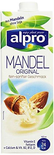 Alpro Mandeldrink, 8 x 1 Liter