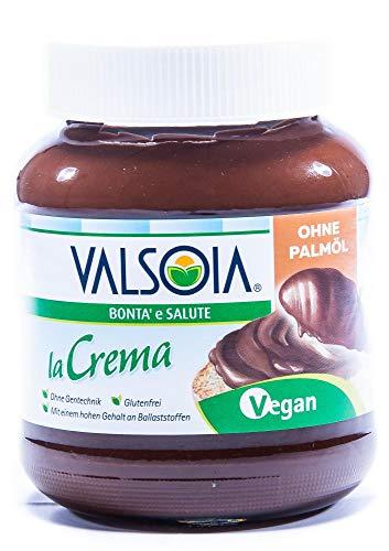 Valsoia la Crema – die vegane Aufstrichcreme 400 g / Haselnusscreme