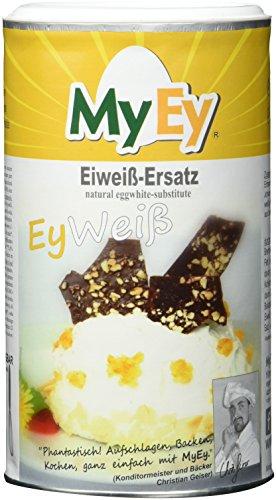 MyEy EyWeiß, Eiweiß-Ersatz, vegan, natürlich & voll aufschlagbar, mit pflanzlichen Proteinen, glutenfrei