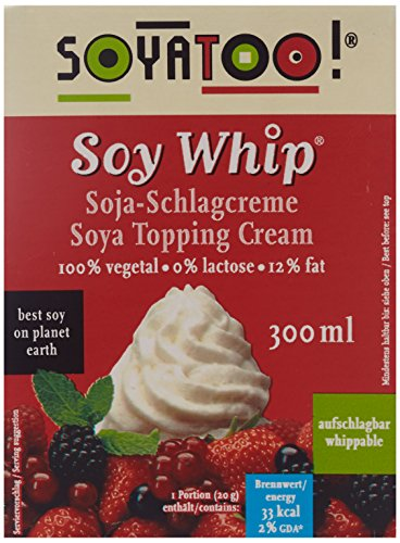 Soyatoo Soy Whip (aufschlagbar), 5 x 300 g