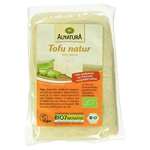 Alnatura Bio Tofu natur, 6 x 200 g