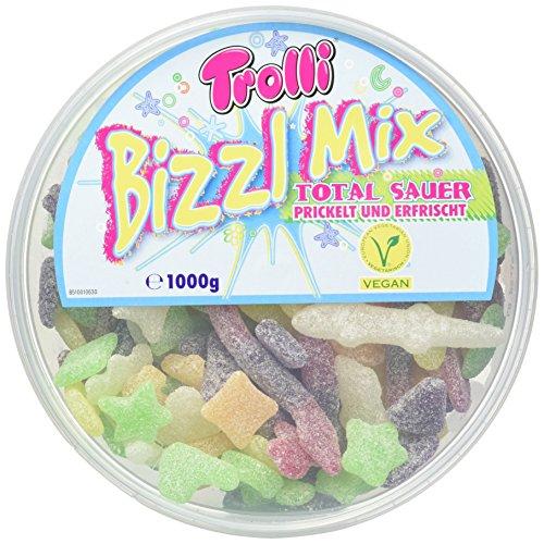 Trolli Bizzl Mix * VEGAN * - 6 kg gesamt, 6 x 1 kg