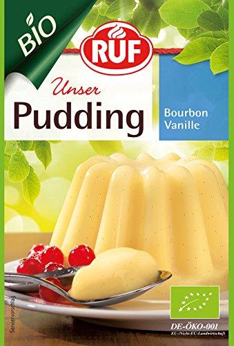RUF BIO Pudding Bourbon Vanille 2er, 18er Pack (18 x 80g)