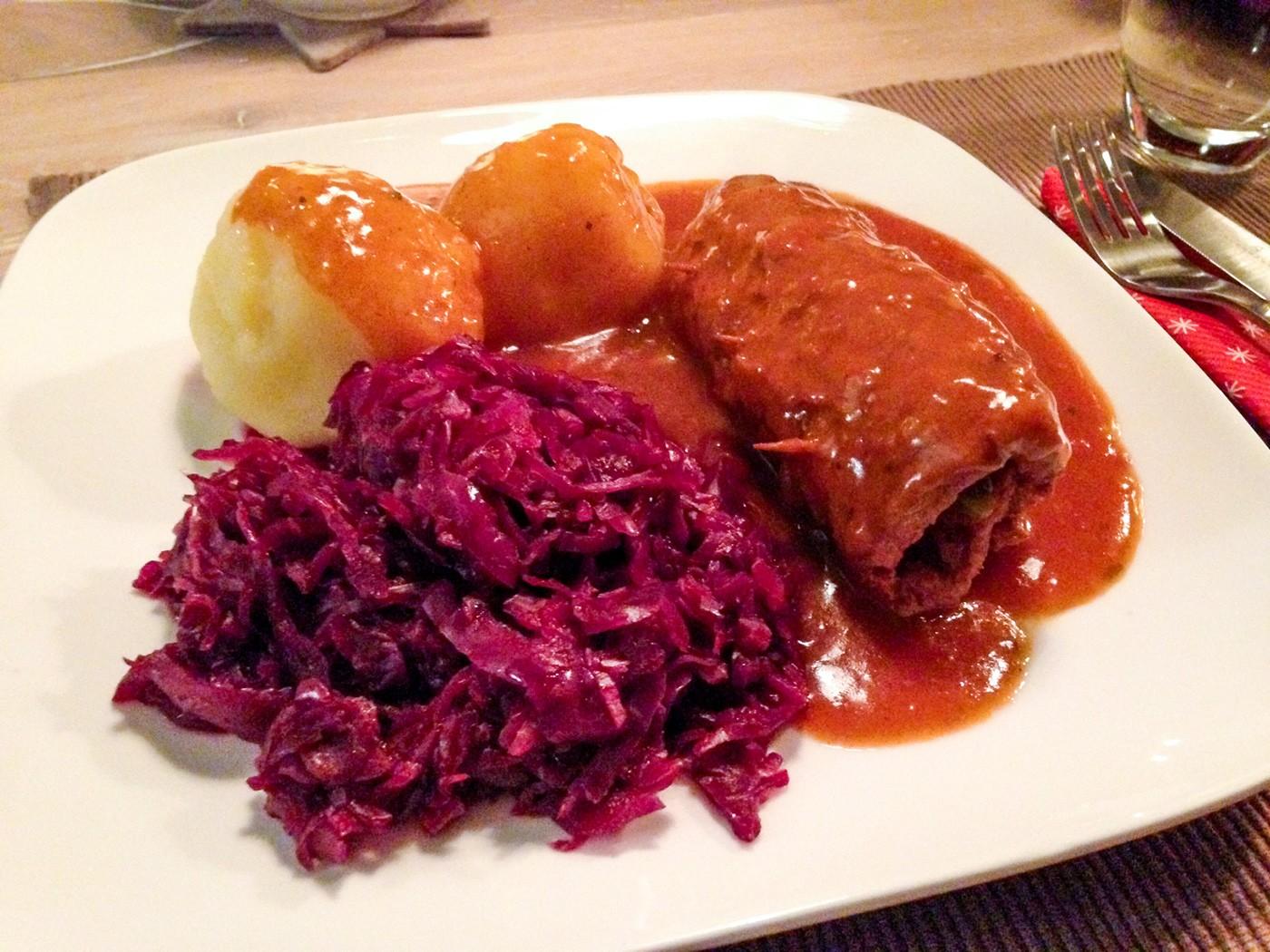 Rezept für vegetarische und vegane Rouladen klassischer Art