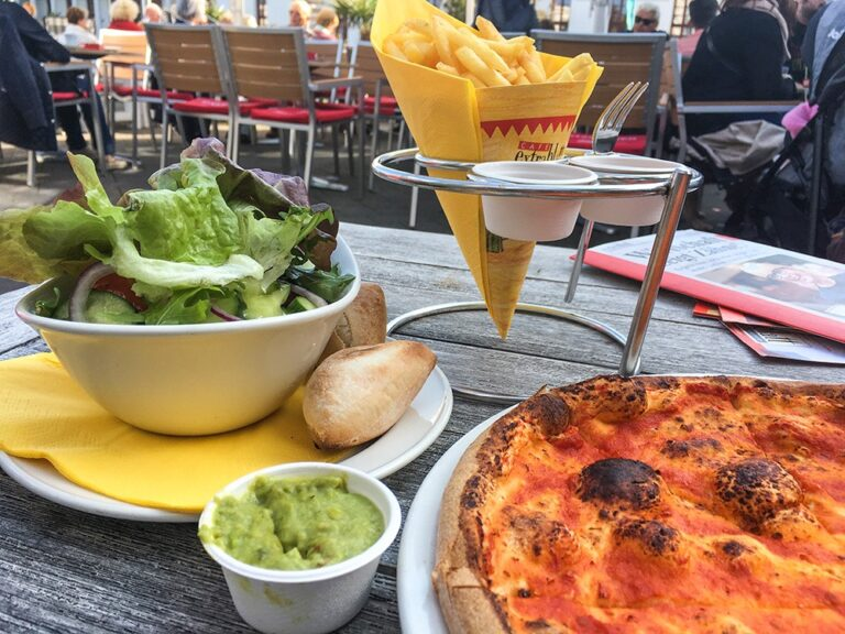 Café Extrablatt auf Norderney
