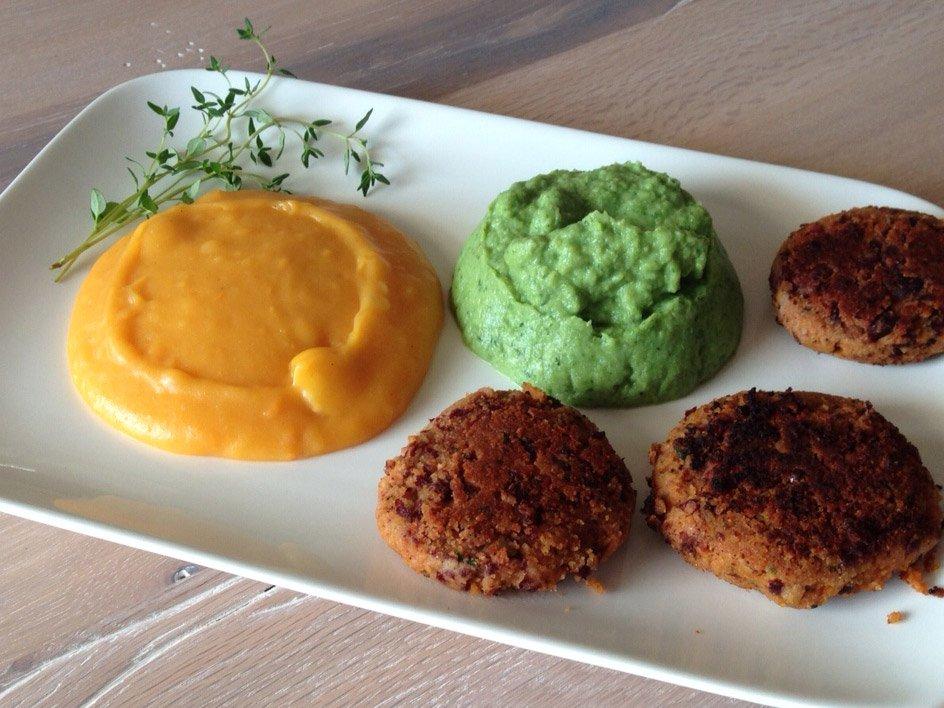Vegane Frikadellen aus Kidneybohnen