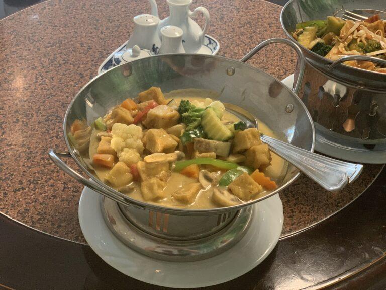 Veganes Curry auf Norderney