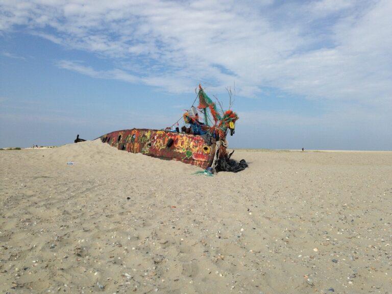 Einen Ausflug wert: Wrack auf Norderney