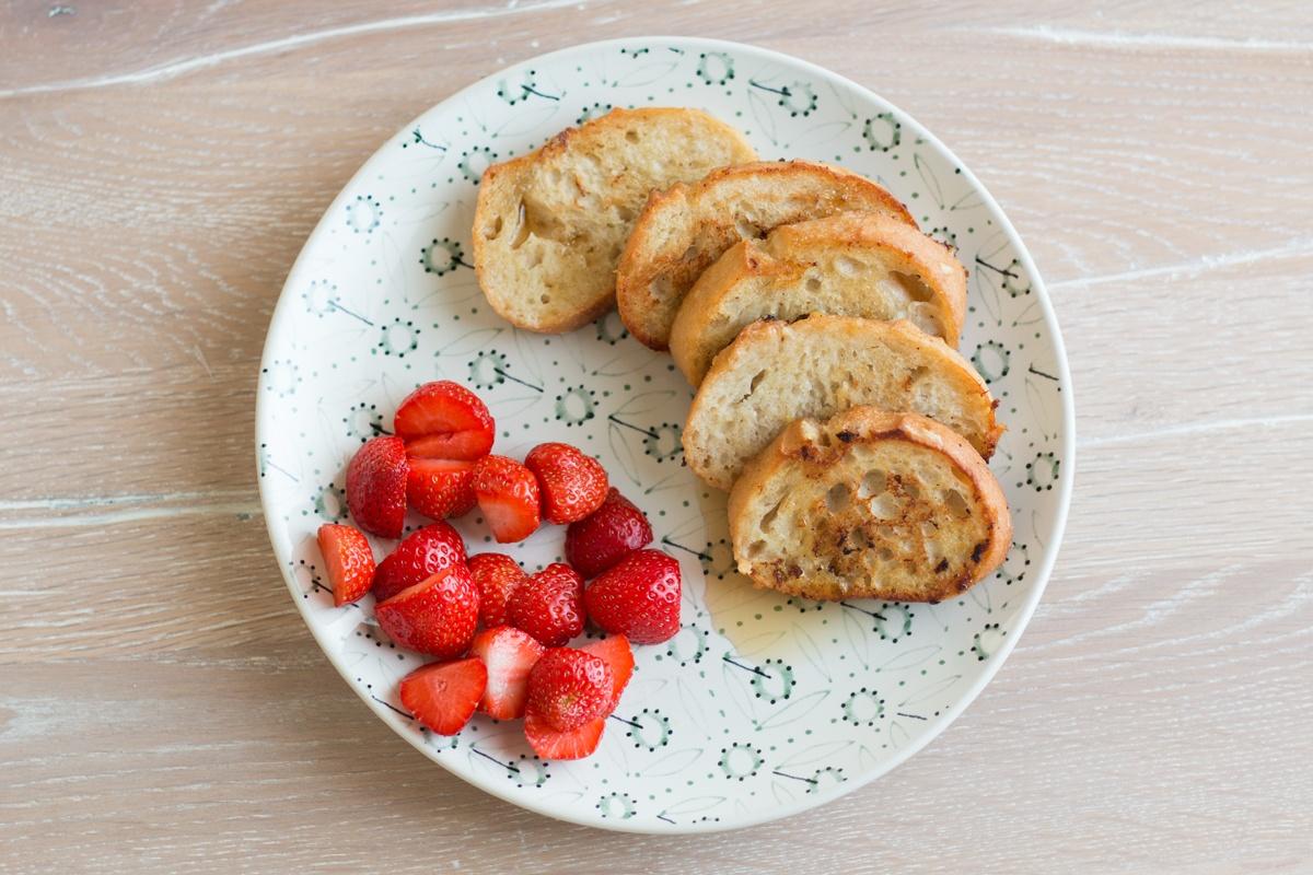 Rezept für vegane French Toast