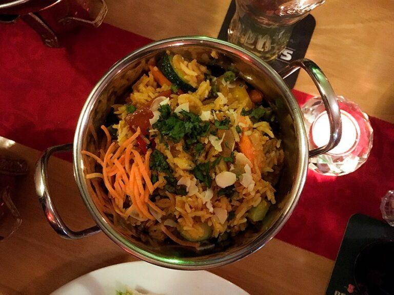 Veganes Essen im Narasinga
