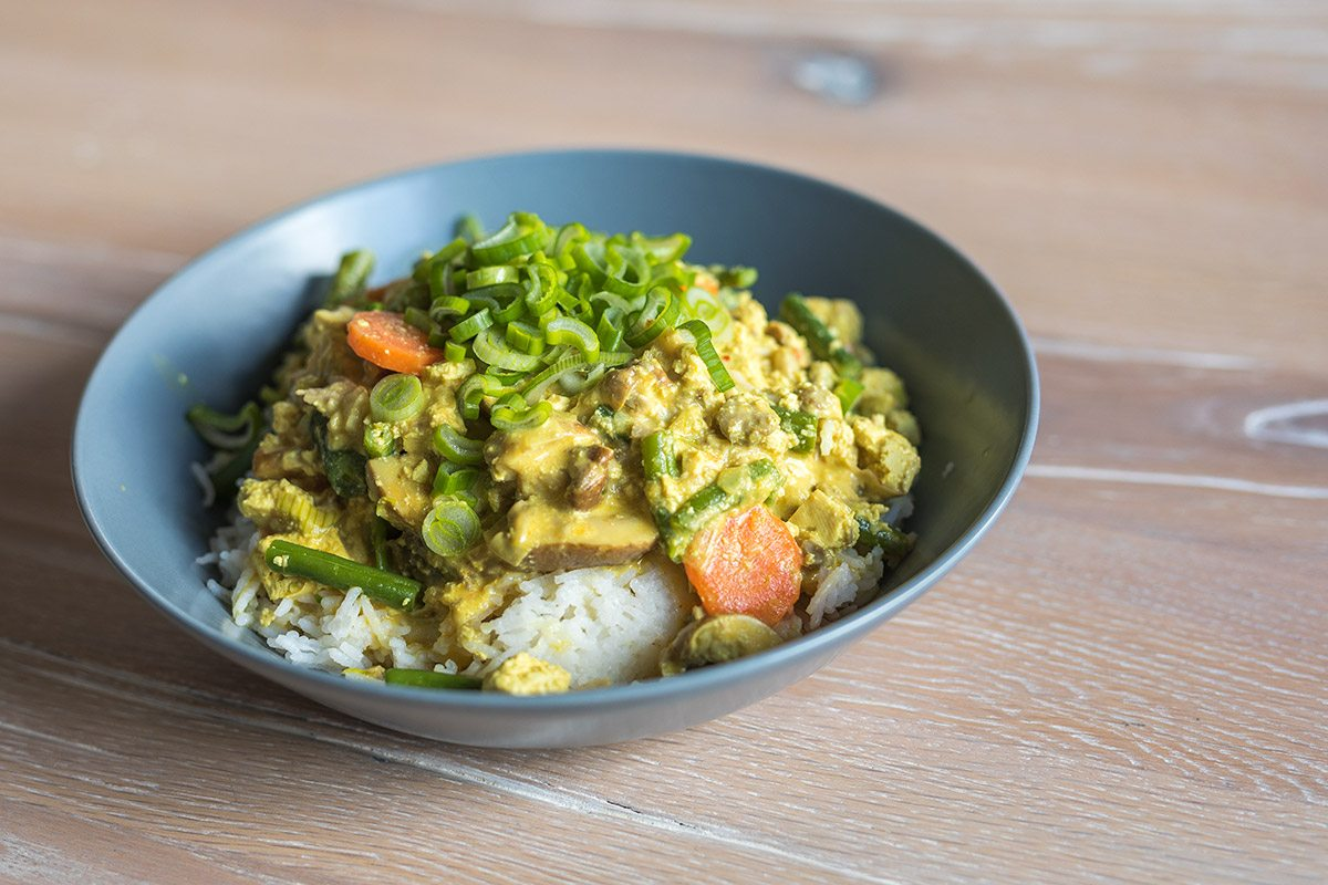 Gemüsecurry mit Rii Jii Reis