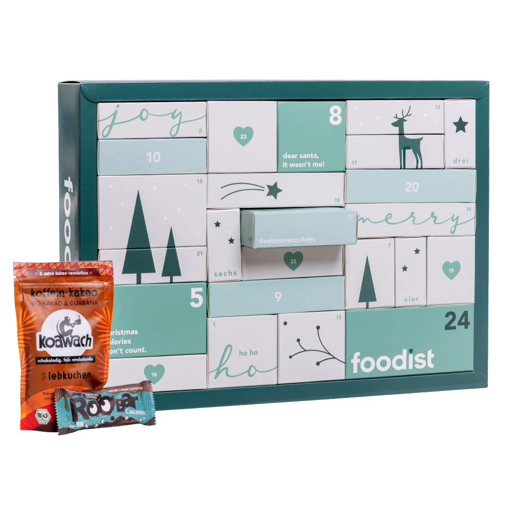 Foodist Adventskalender vegan 2020