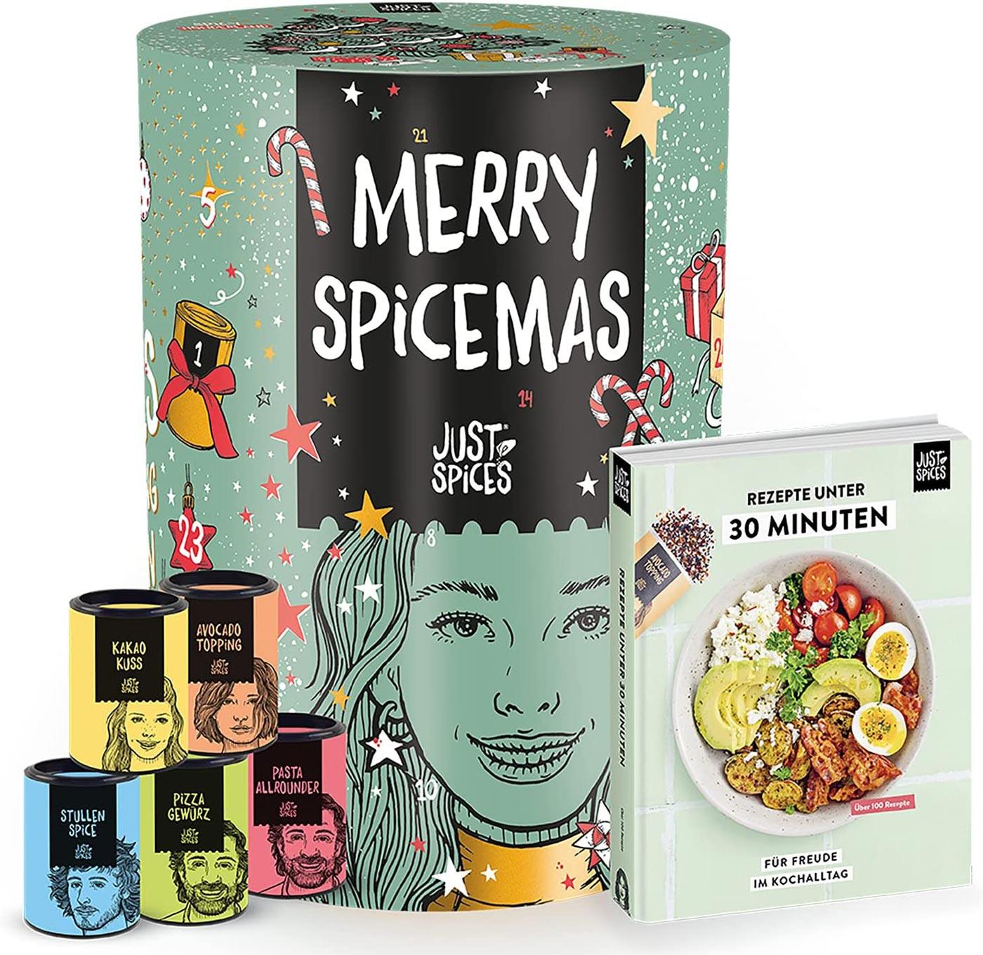 Der große Just Spices Gewürz-Kalender 2021