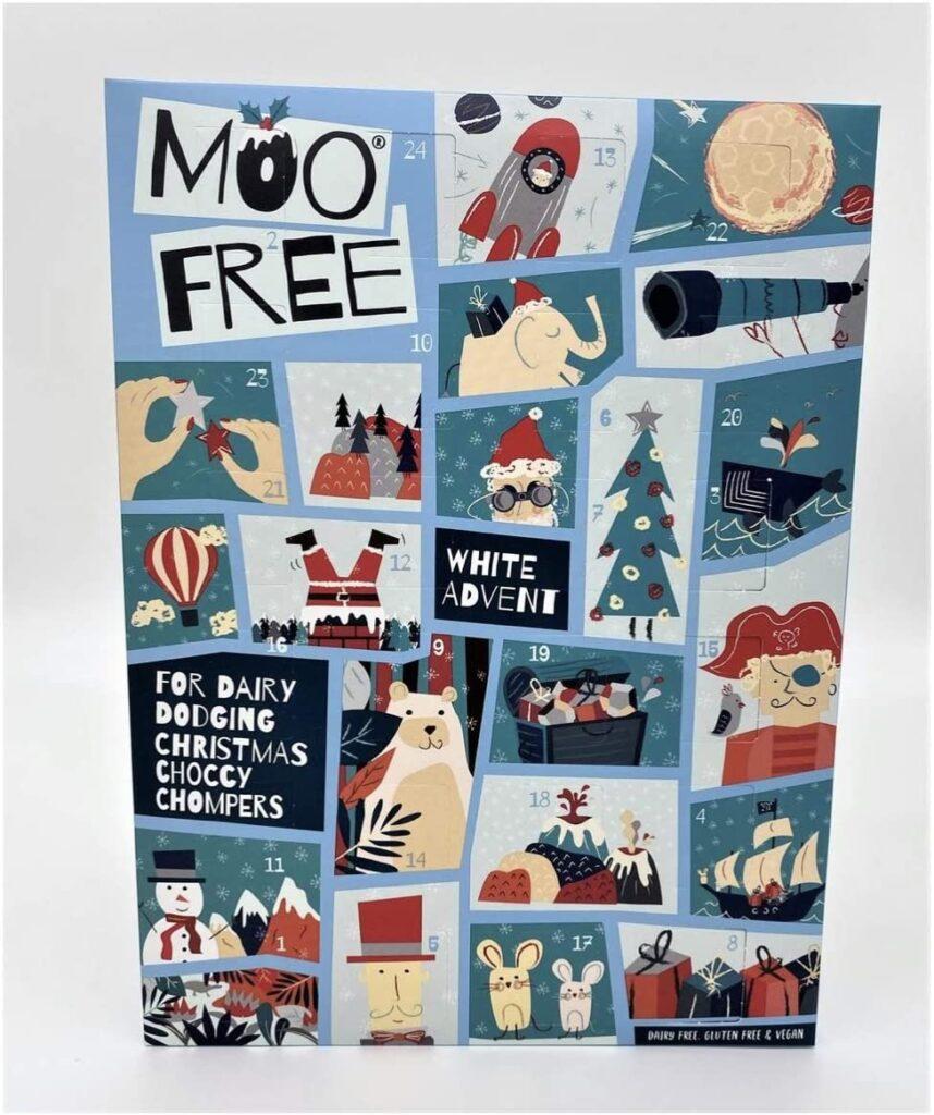 moo free veganer Schokolade-Adventskalender