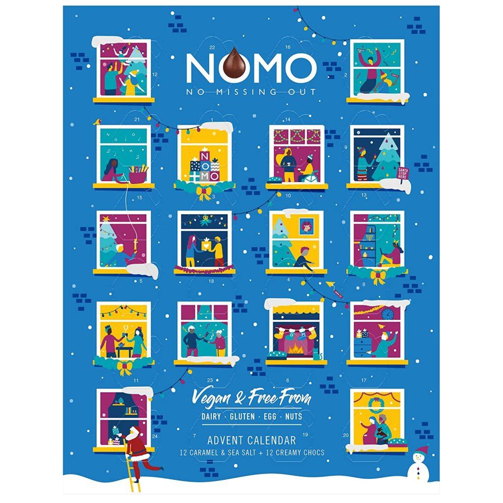NOMO Advent Calendar - vegan, glutenfrei, eifrei, nussfrei