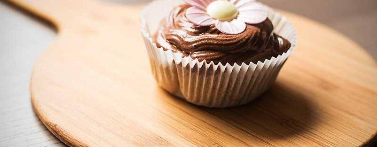 Vegane Bananen Cupcakes