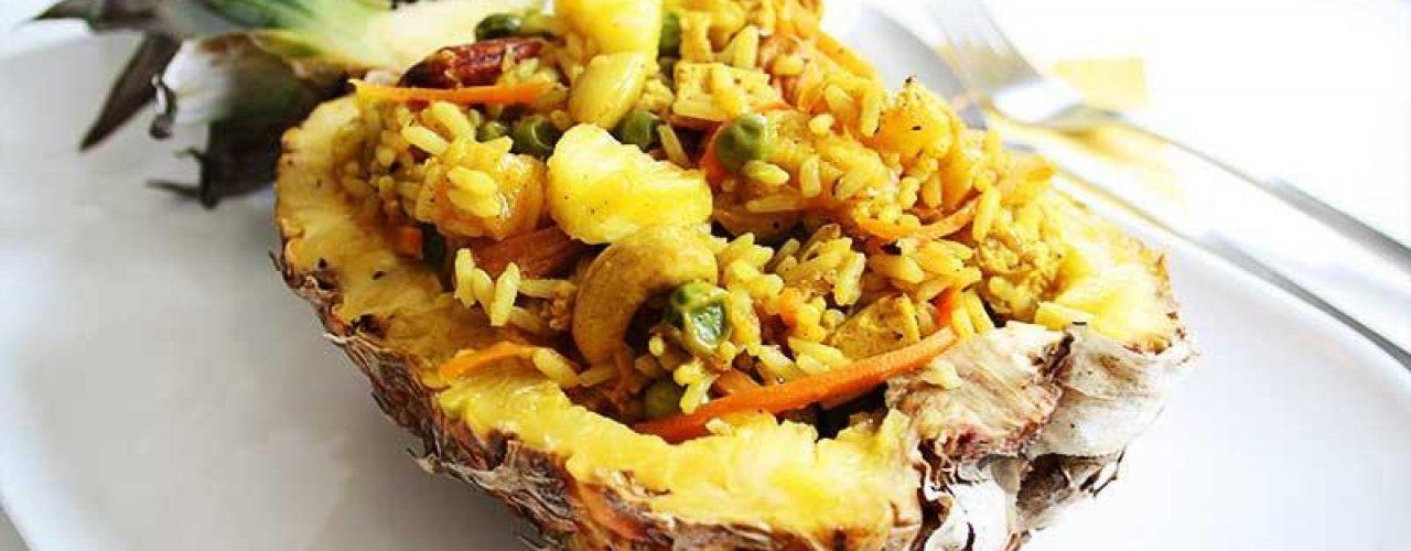 Ananas-Curry